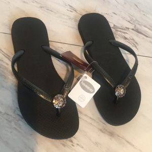 Havaianas with Crystal embellishment